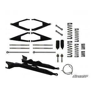 "Super ATV Polaris RZR XP1000 3"" Long Travel Kit w/ Boxed High Clearance A-Arms"