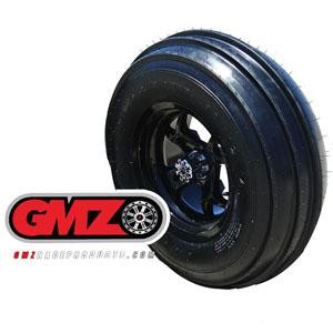 "GMZ Race Products Sand Stripper 28"" 3-Rib Front Sand Tires- Pair"