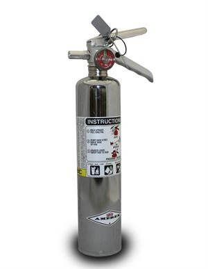 Dragonfire Racing Chrome 2.5 Lbs. ABC Fire Extinguisher