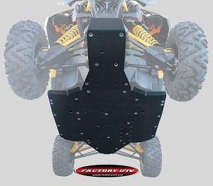 "Factory UTV Can-Am Maverick 1/2"" UHMW Skid Plate"