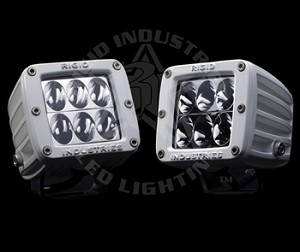 Rigid Industries Marine Series Dually D2 LED Light- PAIR