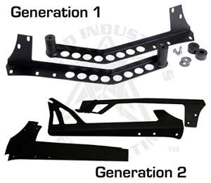Rigid Industries Jeep JK/TJ Windshield Bracket