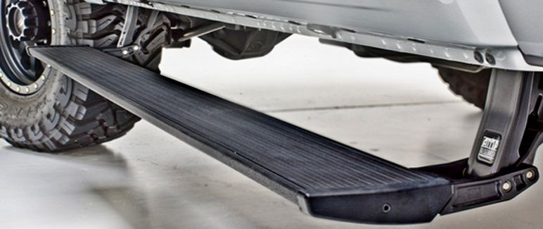 Gmc Sierra Running Boards >> AMP Research PowerSteps- Full Size Truck