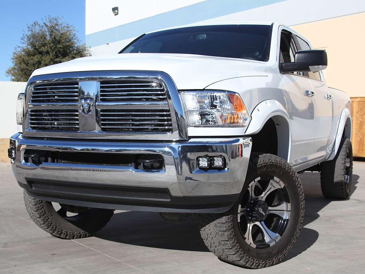 Rigid Industries 2010 2015 Dodge Ram Fog Light Kit Truck Fuel Filter Location