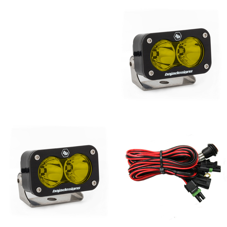 baja designs s2 pro led light pair w wiring harness Wiring Harness 93A050059