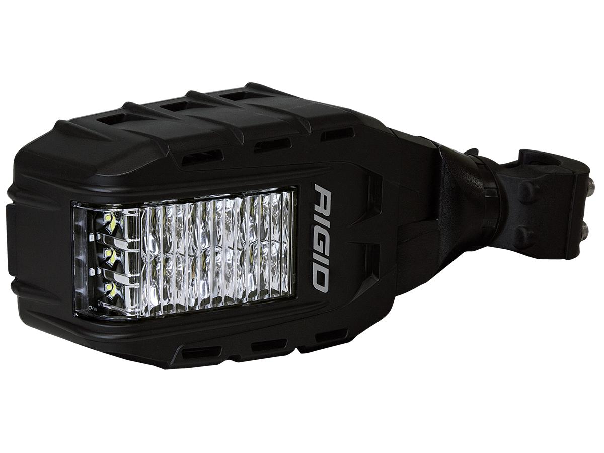 Rigid Industries Reflect Bolt Down White Black Led Light