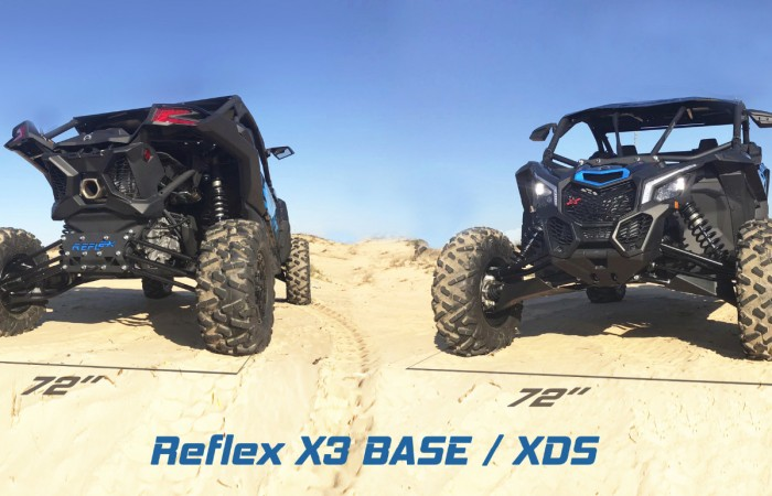 Reflex Can-Am Maverick X3 Base/XDS +8