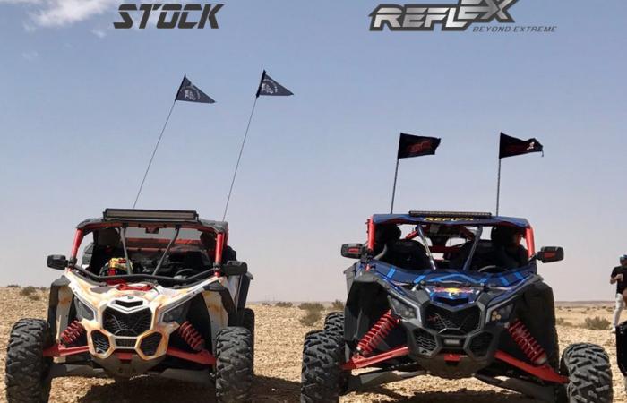 "Can Am Car >> Reflex Can-Am Maverick X3 XRS +8"" Suspension System"