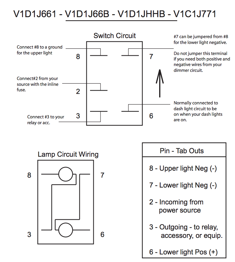 5 terminal rocker switch wiring diagram carling technologies contura led backlit rocker switch whip lights  carling technologies contura led