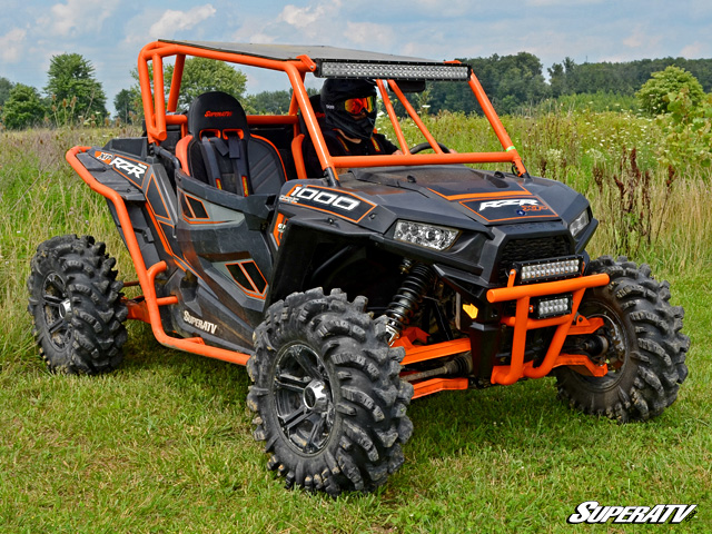 super atv polaris rzr 900 1000 front bumper. Black Bedroom Furniture Sets. Home Design Ideas