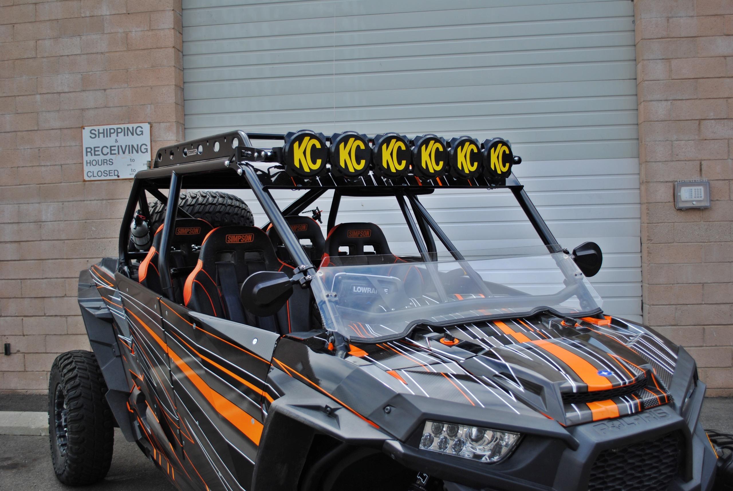 Utv Rear View Mirror >> Cognito Motorsports Polaris RZR 4-Seat XP1000 & XP Turbo ...