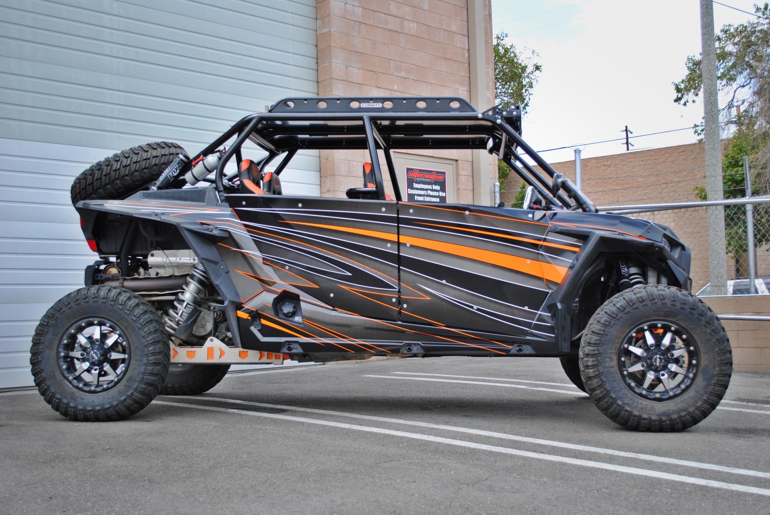 Cognito Motorsports Polaris RZR 4-Seat XP1000 & XP Turbo Roll Cage