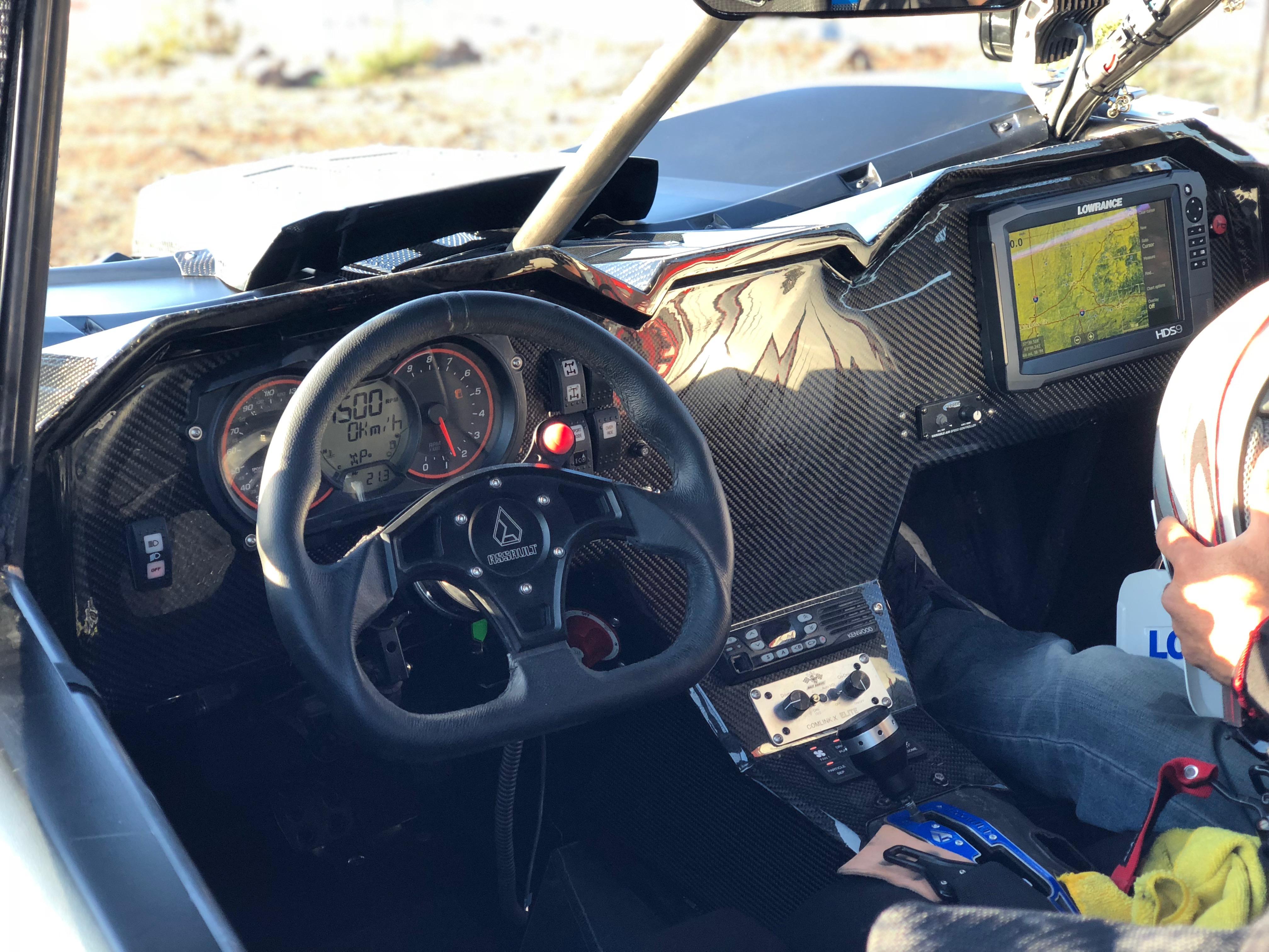 Glazzkraft Can Am X3 Fiberglass Dash