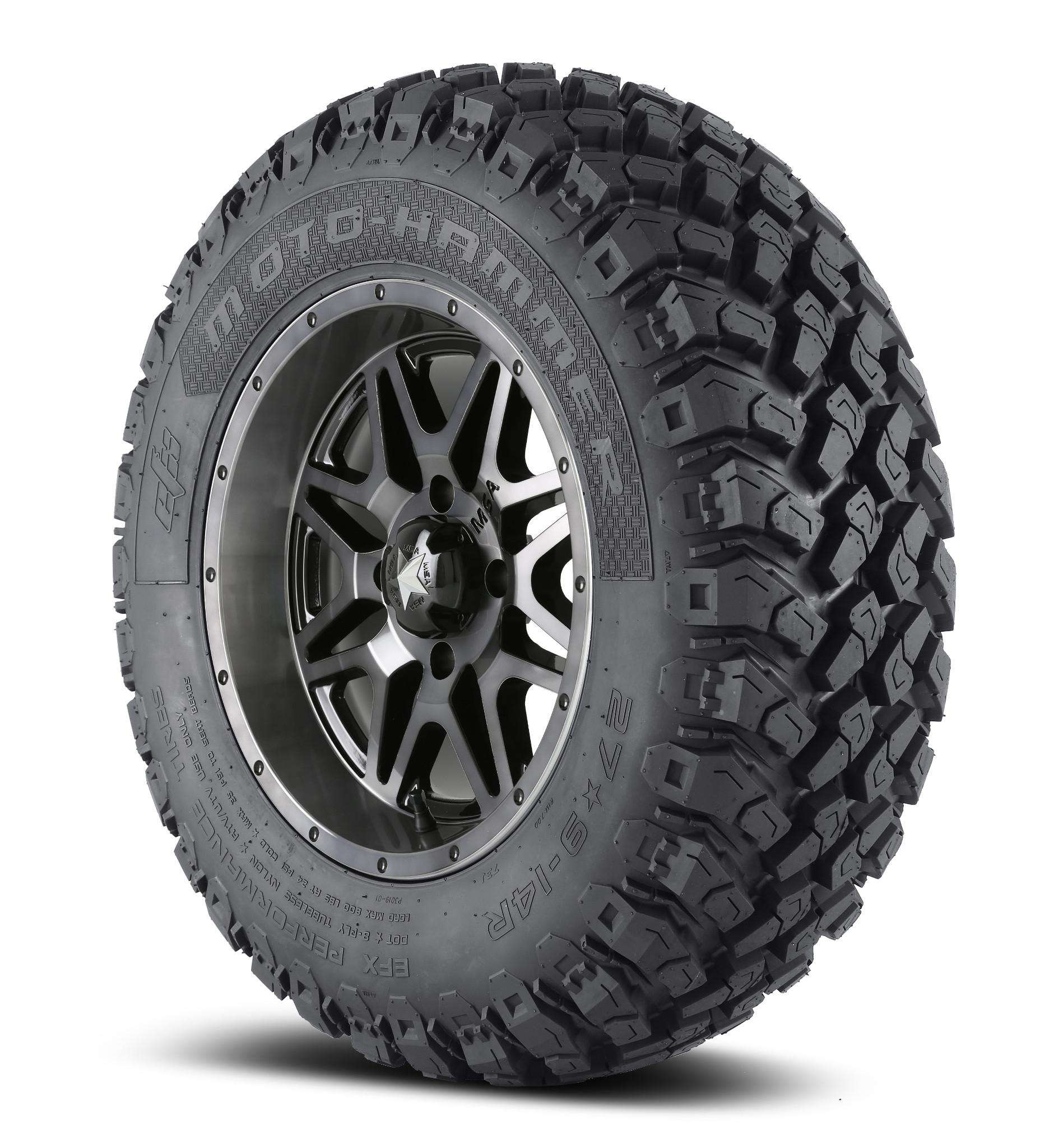 tire msa 14x7 moto wheel efx 31 m21 m26 vibe hammer dark kit inch utv tint beadlock tires wheels lok