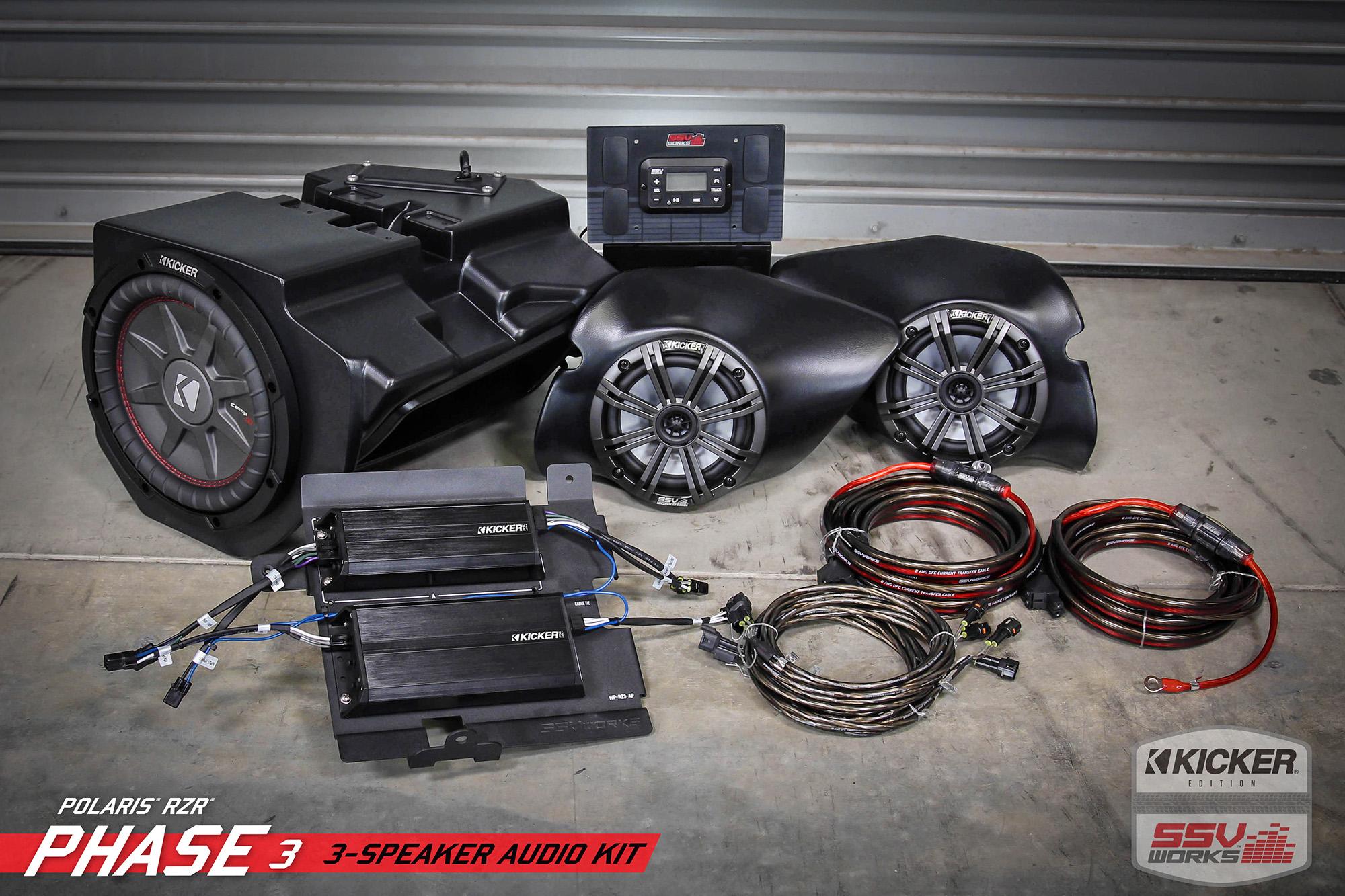 Ssv Works Polaris Rzr Xp1000 Turbo Plug And Play Complete