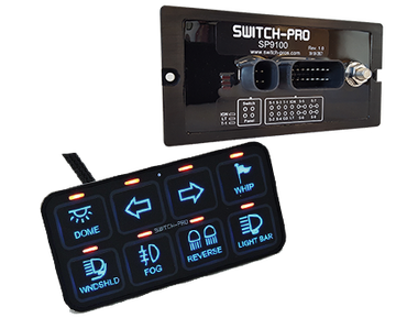 Switch Pros SP 9100 Switch Panel Bluetooth Power System