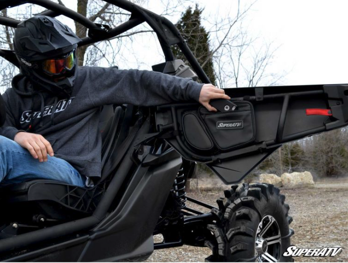 SuperATV Can Am Maverick X3 Door Bags
