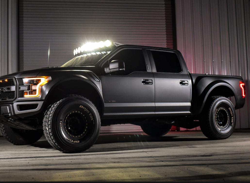 "F150 Raptor For Sale >> KC HiLites Gravity LED PRO6 9-Light 57"" Combo LED Light ..."