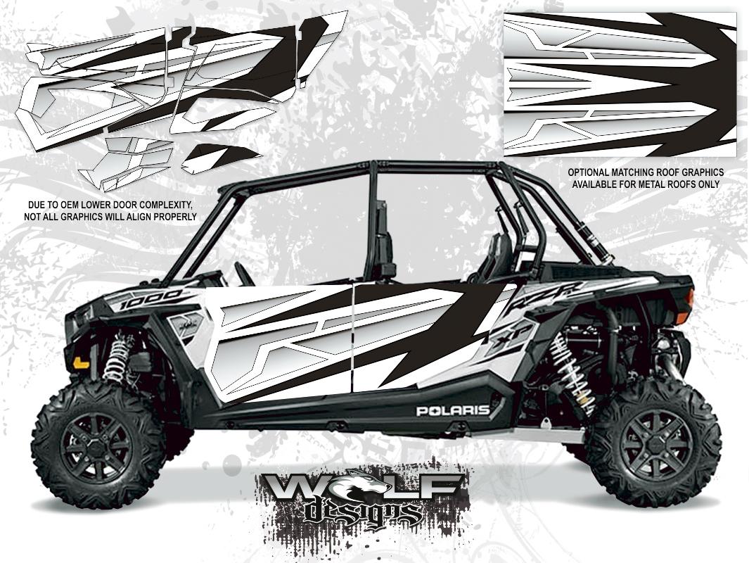 Wolf Designs Polaris 2015 Rzr Xp4 1000 White Lightning