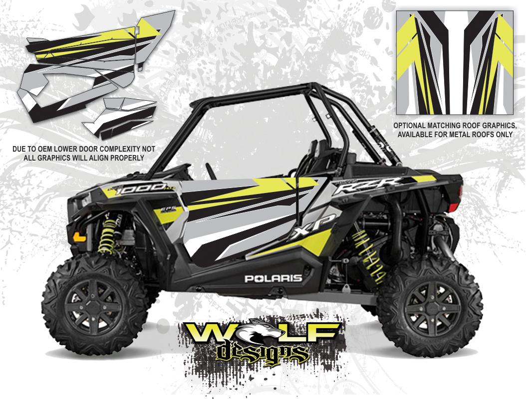 Wolf Designs Polaris 2015 Rzr Xp1000 Fox Edition Silver