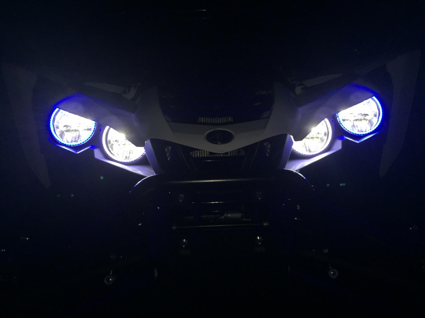 Ebc Brakes Review >> Tric LED TricRings Yamaha YXZ 1000R Headlight Halo Ring