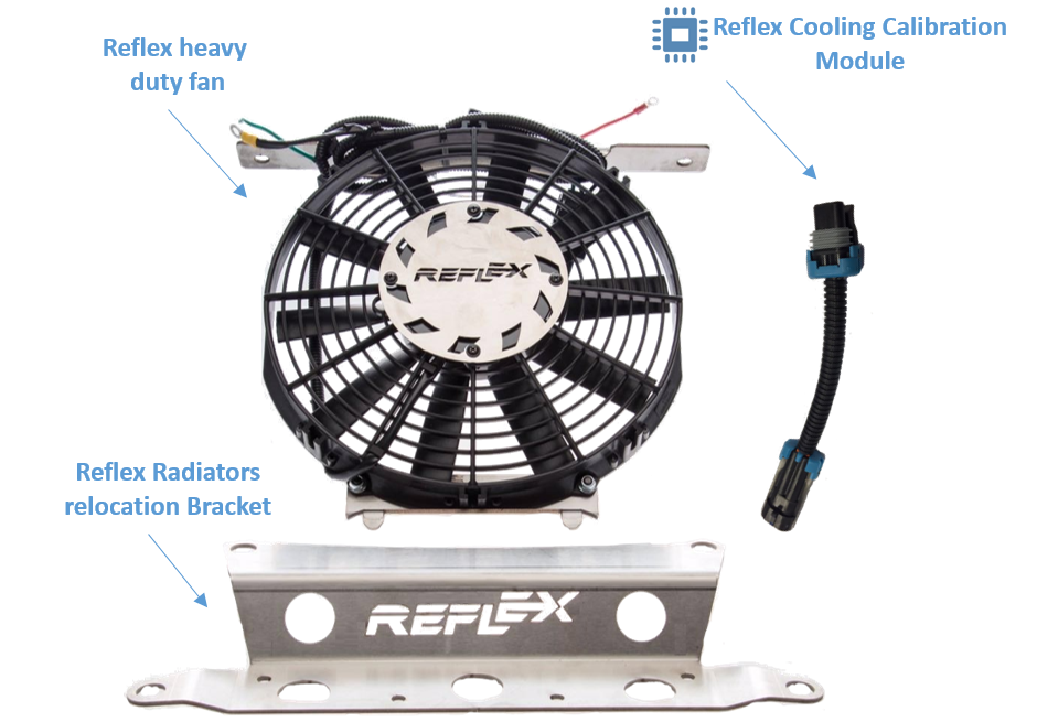 Reflex Polaris RZR XP Turbo Cooling System- Extreme Edition on