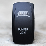 Carling Technologies Contura LED Backlit Rocker Switch- Bumper Light