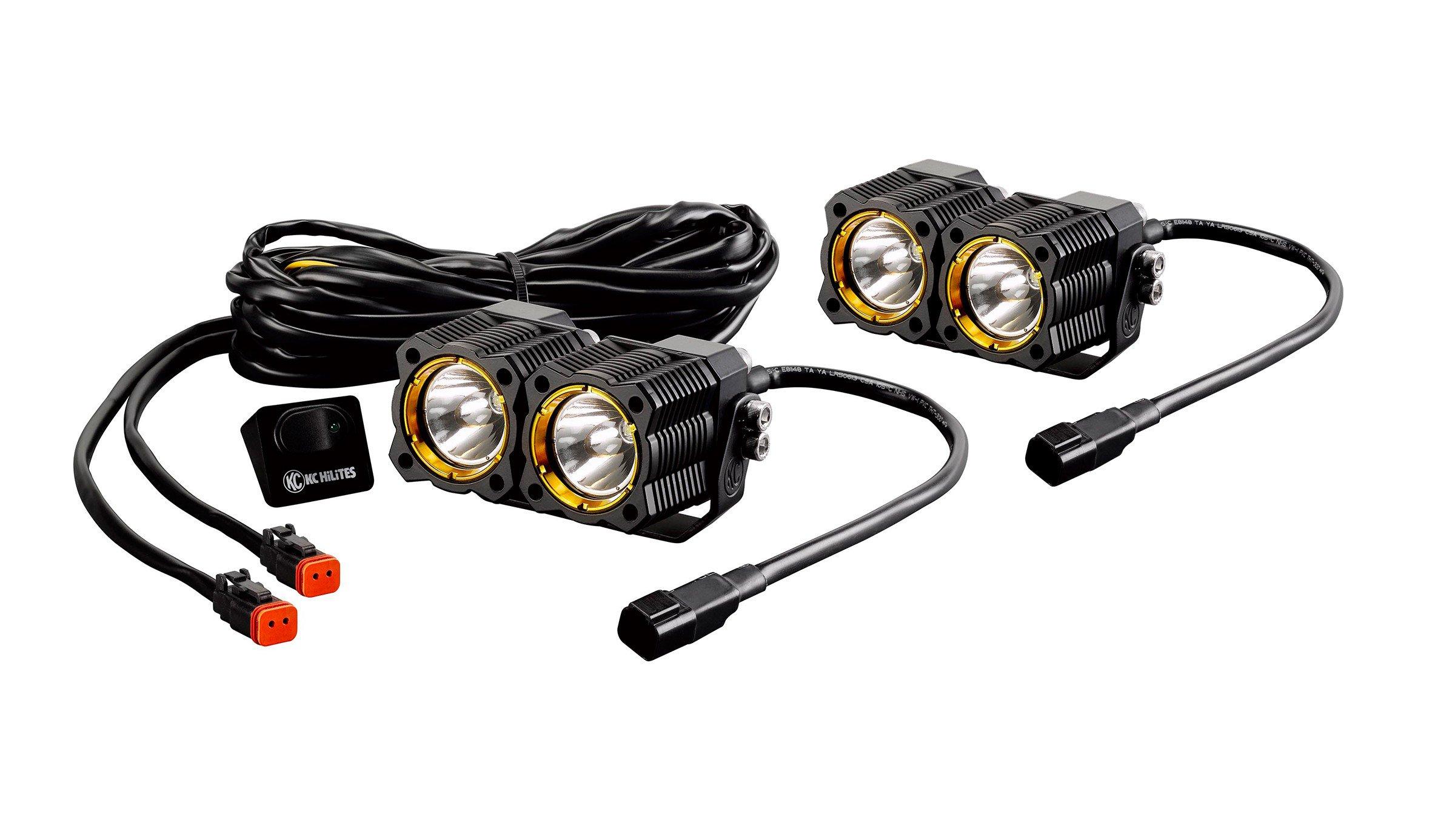 kc hilites flex led dual light system