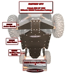 Factory UTV RZR XP 1000 Full UHMW Skid Package