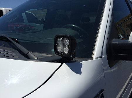 Alternative Offroad Ford F 150 Amp Raptor Hood Mount Light