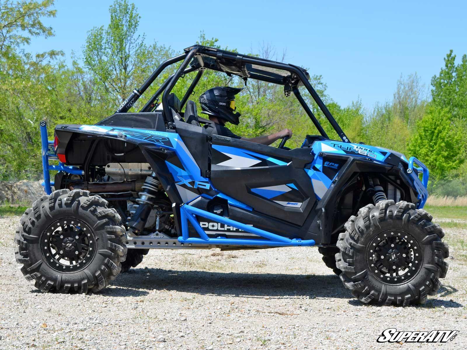 Who Makes The Best Side By Side Utv >> Super ATV Polaris RZR 1000 Full Protection Kit Ready Nerf Bars