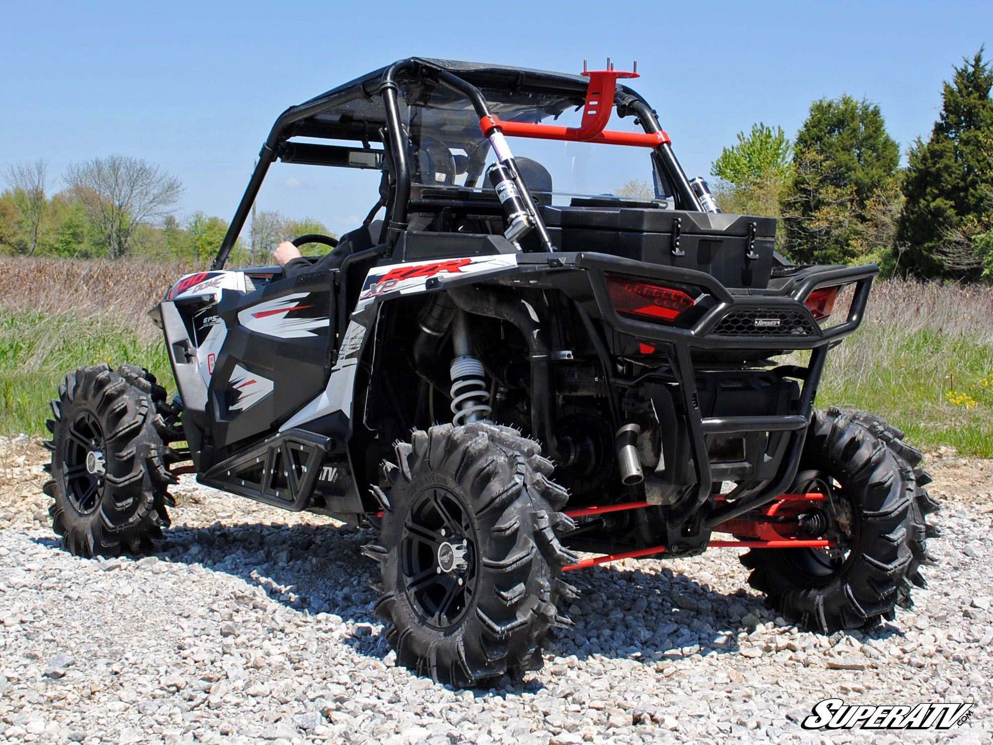 super atv polaris rzr 1000 spare tire carrier. Black Bedroom Furniture Sets. Home Design Ideas