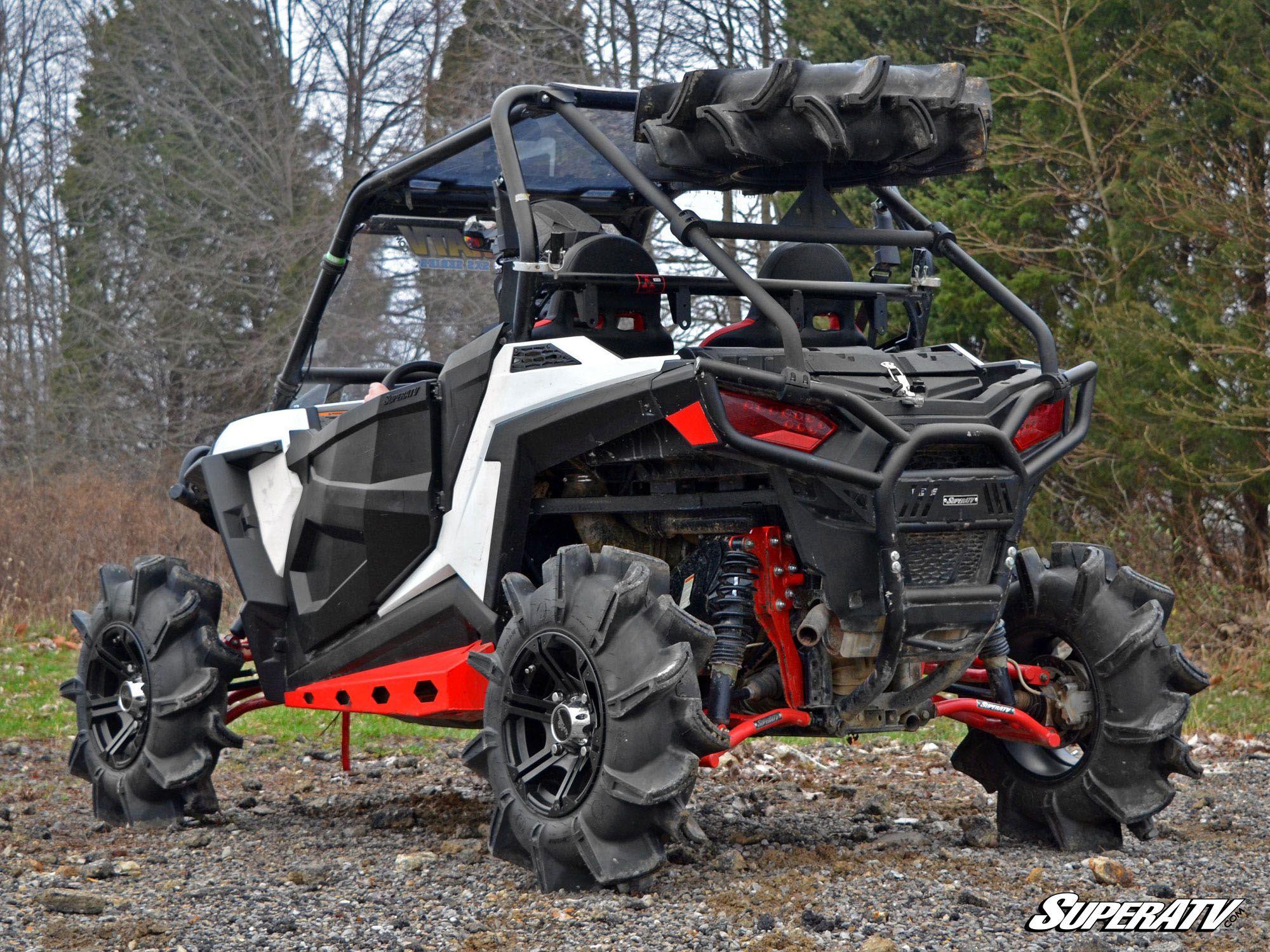 Super ATV Polaris RZR 900 Spare Tire Carrier