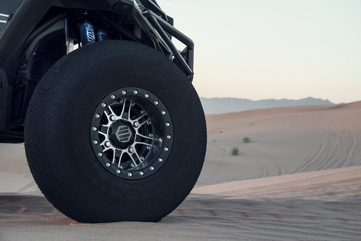 "Utv Tires For Sale >> HiPer Racing Wheels Desert Rat 14"" Carbon Fiber Single Beadlock Wheel"