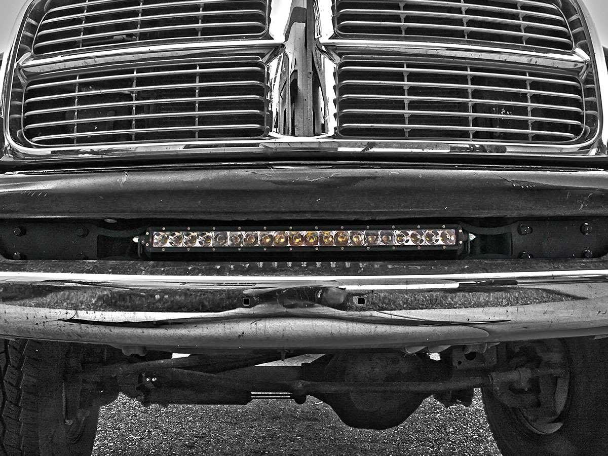 Rigid Industries 2004 2015 Dodge Ram 2500 3500 Bumper Mount Trailer Light Wiring