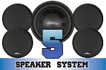 SSV Works Can Am Maverick/Commander 5-Speaker System
