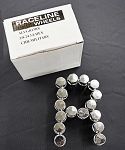 Raceline Racing Lug Nuts- 16 Pack (Chrome)