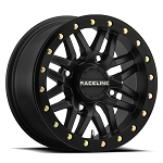 Raceline Wheels A91 Ryno Beadlock UTV Wheel - Black