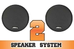 SSV Works Polaris RZR and RZR-S Complete 2 Speaker System