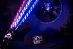 5150 Whips Pair RGB *Bluetooth* Color-Changing LED Whip w/Magnetic Quick Release Base - 4ft