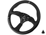 Assault Industries 350R Leather Universal UTV Steering Wheel w/Front Plate Only