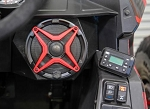 SSV Works Polaris RZR RS1 2 Speaker Plug & Play Stereo System