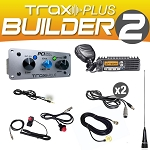 PCI Race Radios Trax PLUS Builder 2 Intercom Package