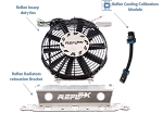 Reflex Polaris RZR XP Turbo 2016 Cooling System - Extreme Edition