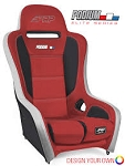 PRP Podium Elite Racing Seat  w/Seat Heaters