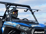 Super ATV Polaris RZR 900 / 1000 Scratch Resistant Flip Windshield