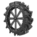 MSA M34 Flash Wheel Mounted on EFX MotoHavok Mud Tires Wheel Tire Kit