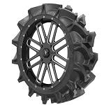MSA M35 Bandit Wheel Mounted on EFX MotoHavok Mud Tires Wheel Tire Kit