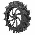 MSA M36 Switch Wheel Mounted on EFX MotoHavok Mud Tires Wheel Tire Kit