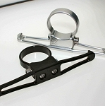Axia Alloys Billet Headset/Goggle Hanger (Perpendicular to Bar)